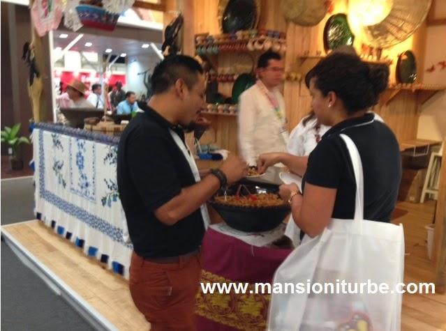 La Cocina Michoacana en el Tianguis Turistico de México 2014