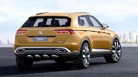 Volkswagen CrossBlue Coupé SUV Concept rear