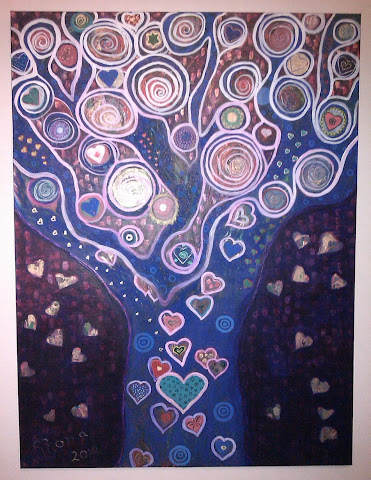 Finished Heart Tree