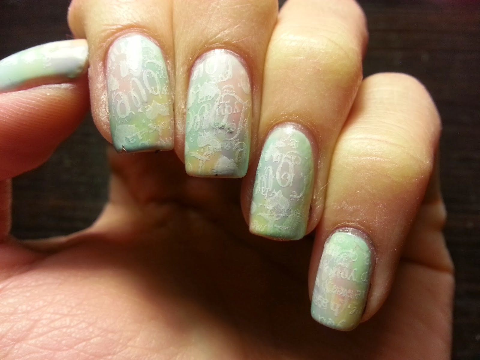 Pinkie Swear Nails February Nail Art Challenge Pastel Hearts