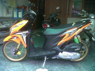 Vario Techno 125 Modifikasi