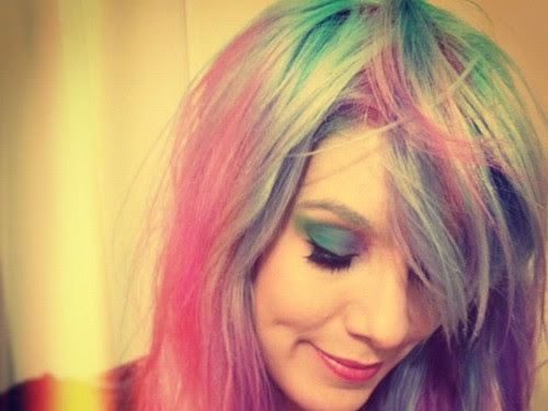 Cabelos Coloridos de Marimoon
