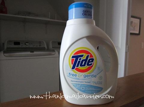 Tide Free & Gentle detergent