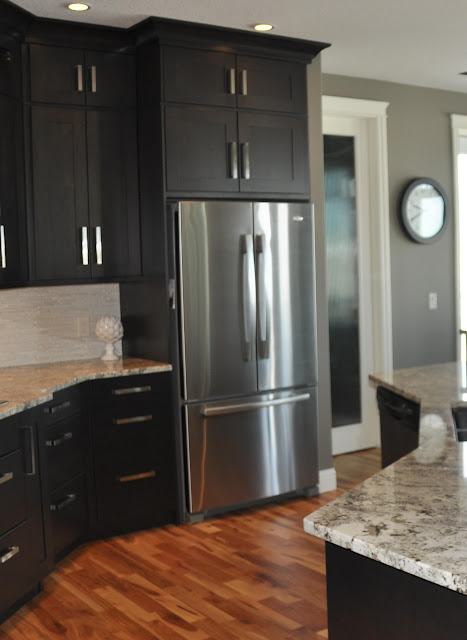 Image Result For Dark Gray Kitchen Cabinets