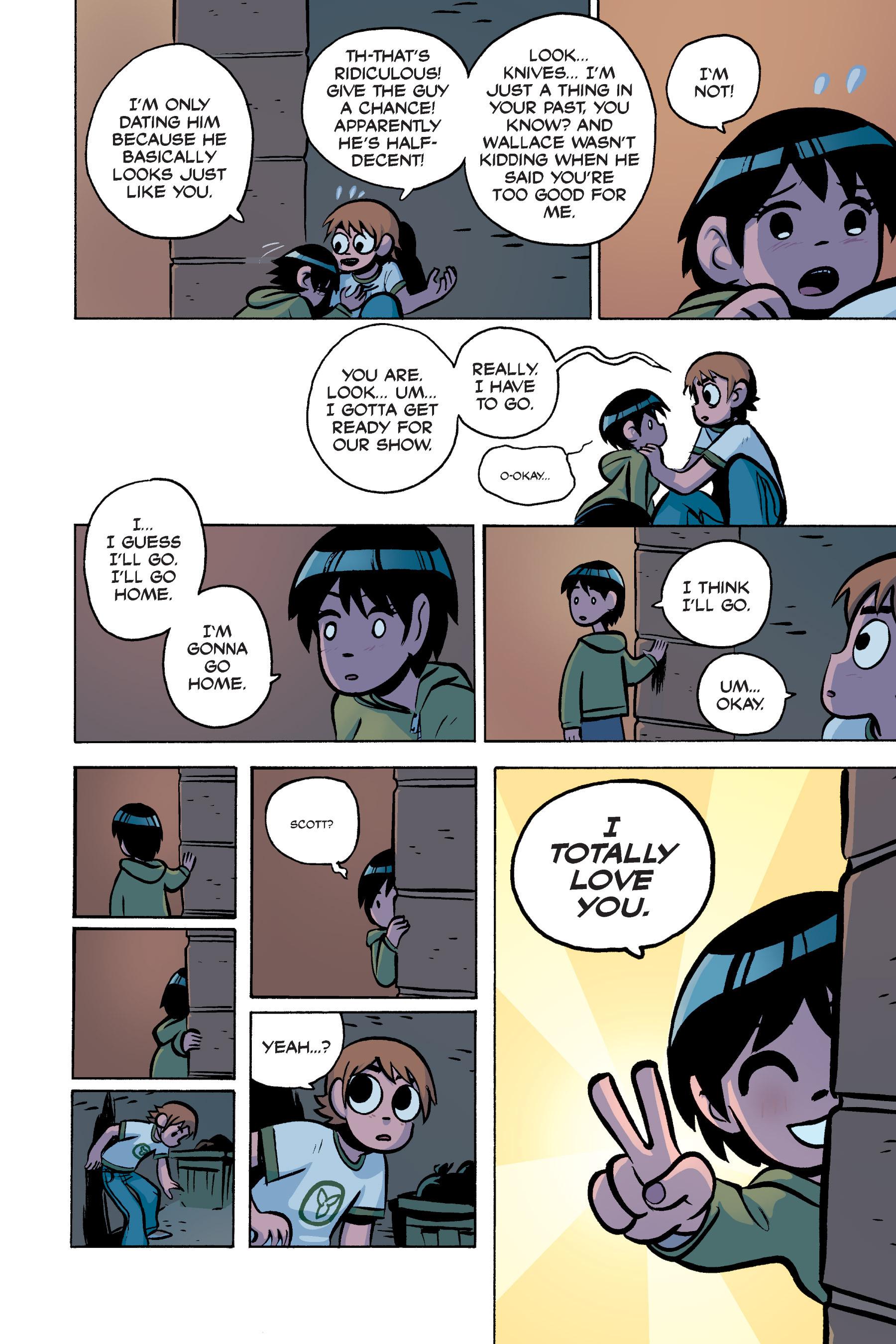 Read online Scott Pilgrim comic -  Issue #3 - 115