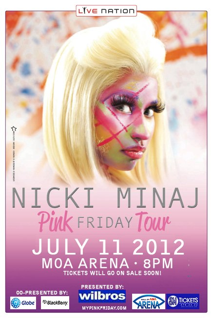 Get tickets for Nicki Minaj Live in Manila