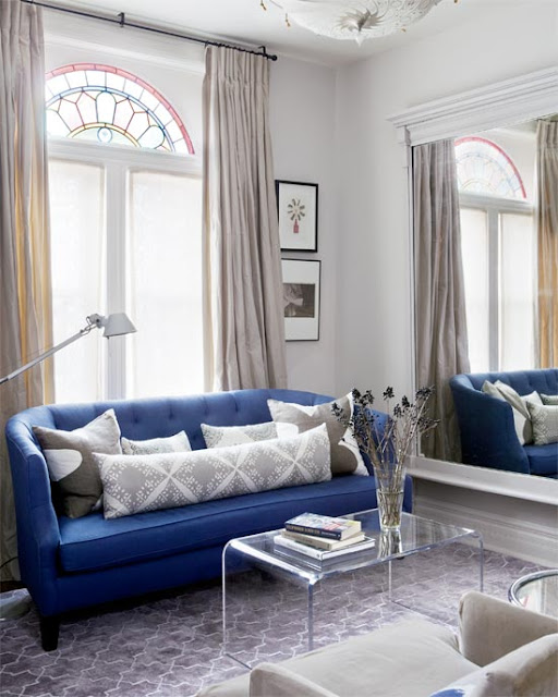 verticals in decorating a small space