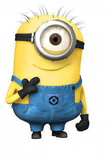 ... looked at the yellow case the toy comes in and I saw...a Minion