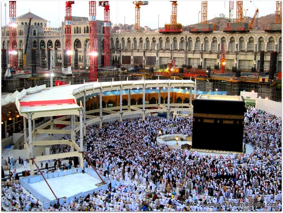 Umroh Ramadhan bersama Keluarga 2014