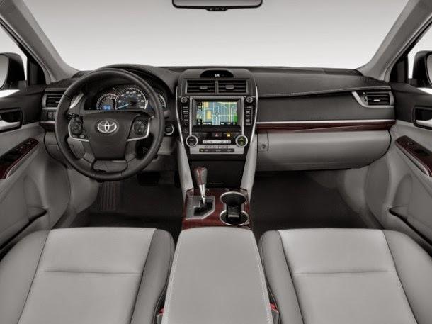 Desain Interior Camry Mobil Hybrid Terbaik Indonesia