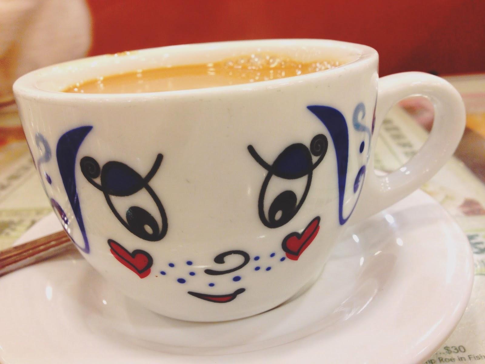 Tsui Wah Restaurant Hong Kong-style Milk Tea