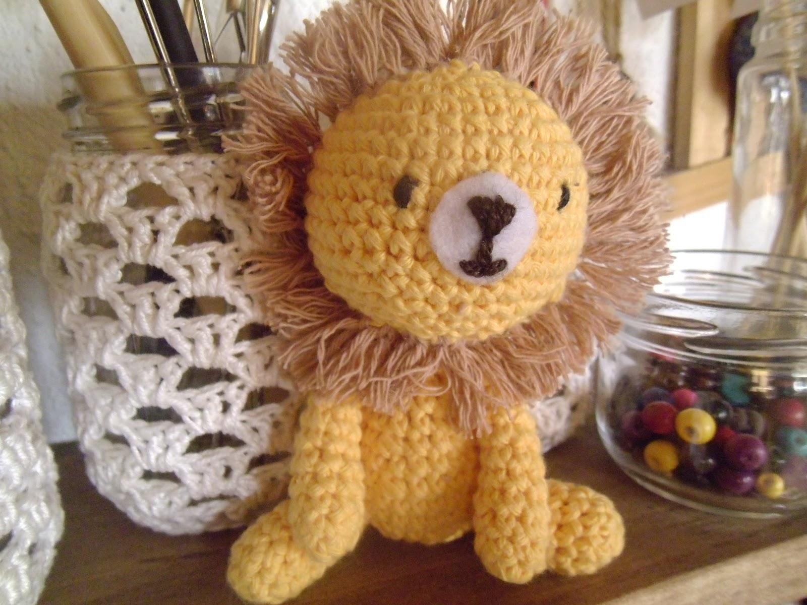 Amigurumi Leon : Es un mundo amigurumi un león
