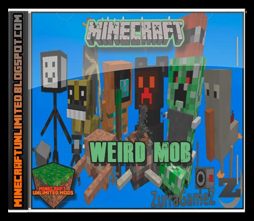 Weird Mob Mod Minecraft