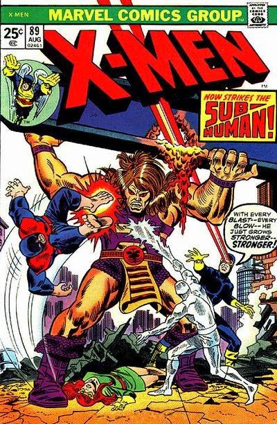 X-Men #89, the Sub-Human