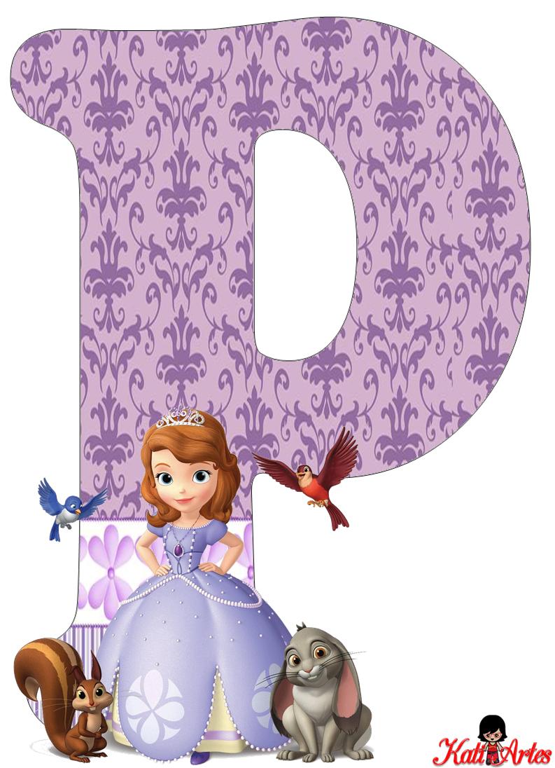 alfabeto de princesa sof237a oh my alfabetos
