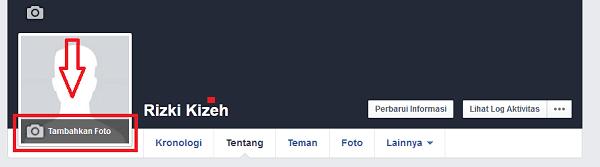 Mengubah foto profil di facebook