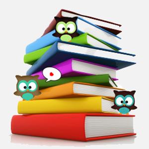 Bücherstapel gezeichnet  BuchZeilen: November 2011