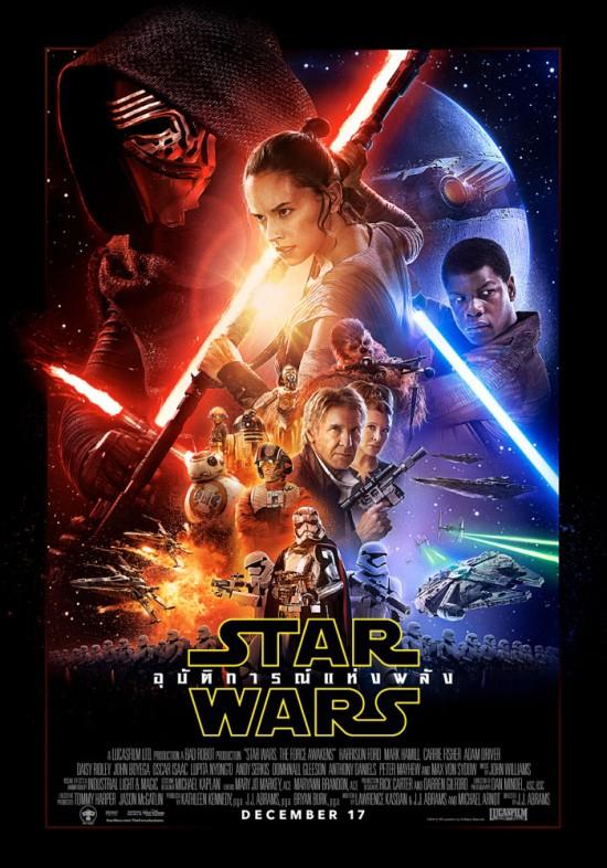 STAR WARS THE FORCE AWAKENS (2015) สตาร์ วอร์ส อุบัติการณ์แห่งพลัง