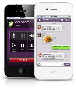 دانلود نرم افزار آندروید Viber 2 1 2 116554  تماس و پیامک رایگان با Viber 2 0 در اندروید