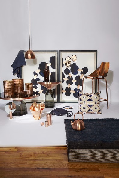 Hot Trend Alert: Decorating with Copper!
