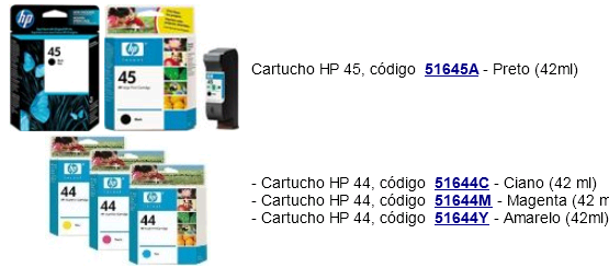 http://www.lojadoplotter.com.br/plotter/plotter-usado/plotter-hp-designjet-750c-755cm.html#cartuchos