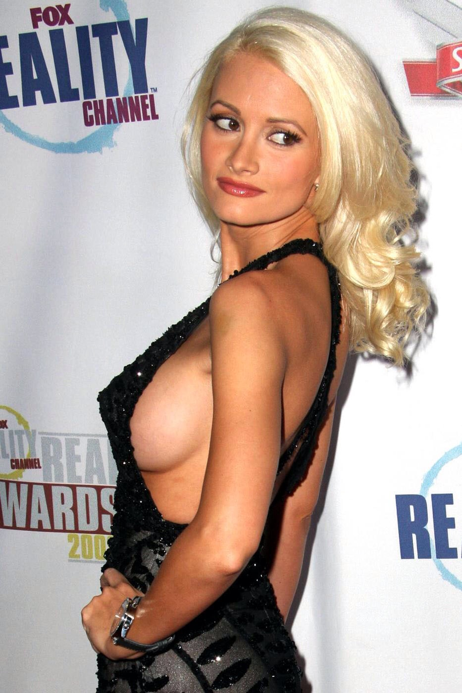 Catherine bach side boob