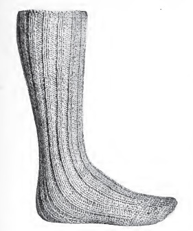 Mans Long Wool Socks Digital PDF Pattern $1.95