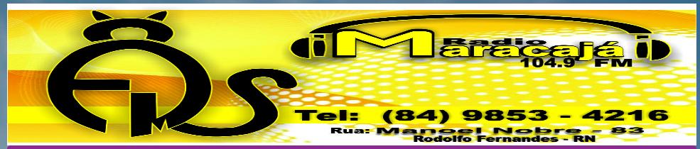 Radio Maracajá Fm 104;9 - Aqui Clique na Foto para abri a Radio