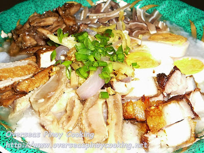 Special Pinoy Congee