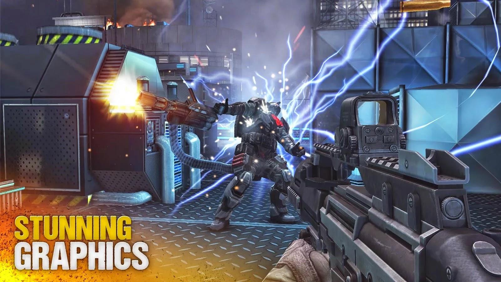 Modern Combat 5: Blackout v1.4.1a Mod
