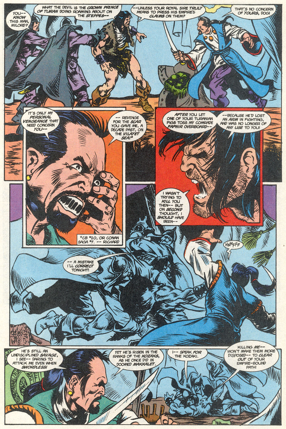 Conan the Barbarian (1970) Issue #275 #287 - English 40