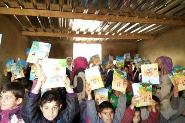 レバノンのシリア難民のための学校支援