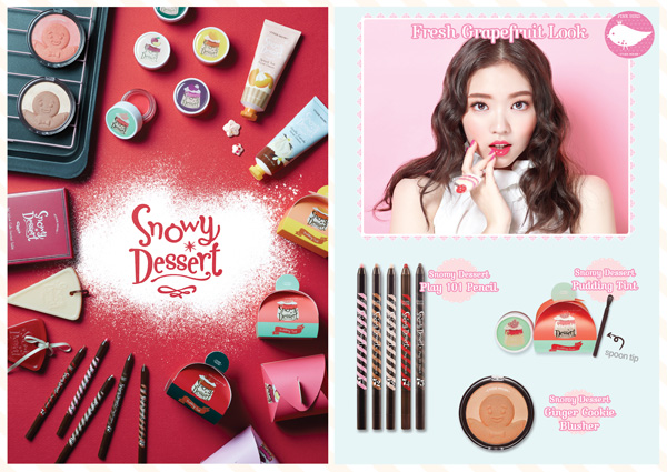 Etude House, Snow Dessert, review, korean beauty, korean makeup, play 101 pencils