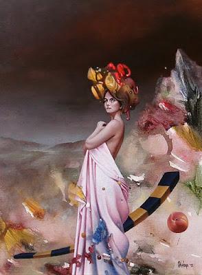 Cuadros Raros Mujeres Escuela Surrealista Di Vogo