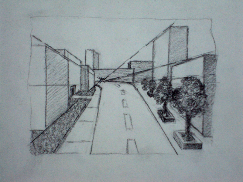 Line Art Photo Tutorial : Tutorial: the art of perspective drawing