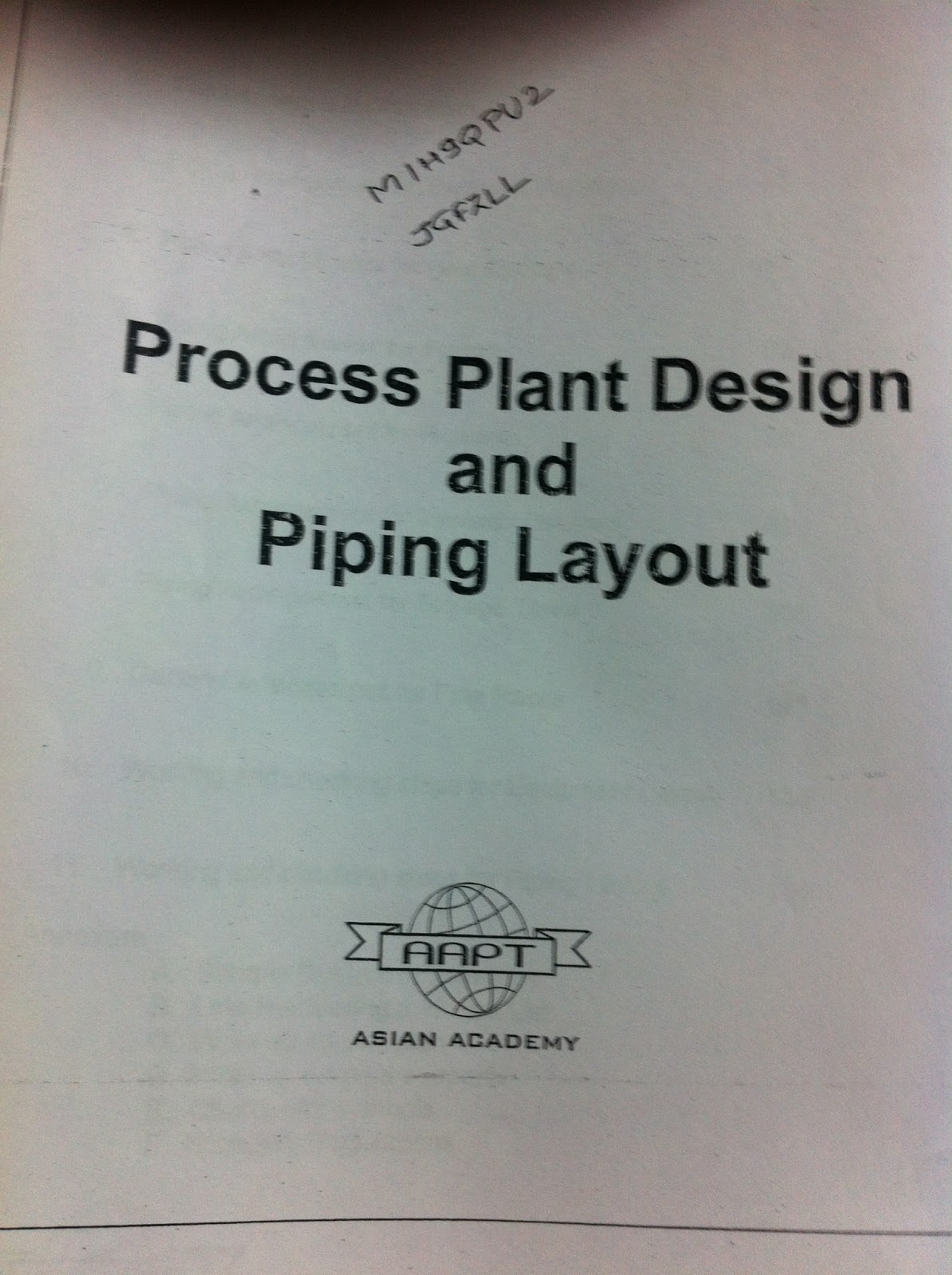 Pg Diploma In Piping Designmit Pune An Insiders Review Layout Pictures A Few Words Of Wisdom About Their Notes