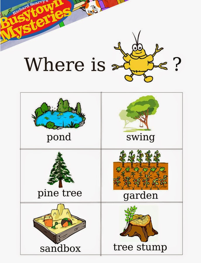 Which Richard Scarry Books Have Goldbug