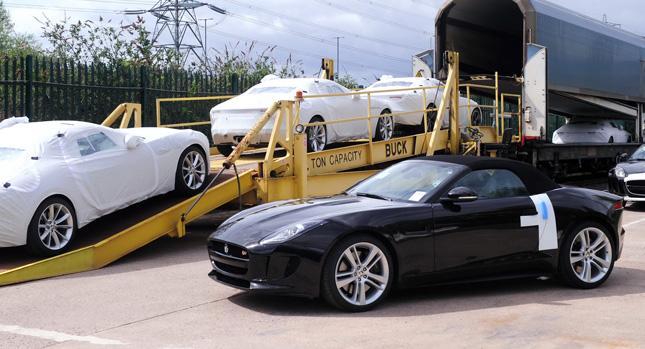 Jaguar F Type Enjoys A Vibrant Start, Half Of 2013u0027s Production Already  Sold Out