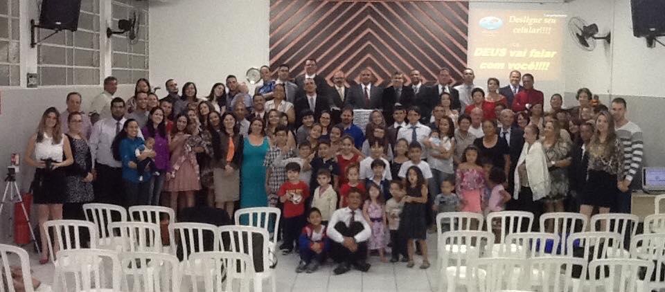 Venha fazer parte desta linda família do Senhor Jesus!!