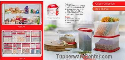 Queen Collection, Tupperware Indonesia
