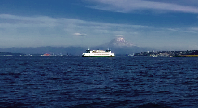 Ferry Mt. Rainier