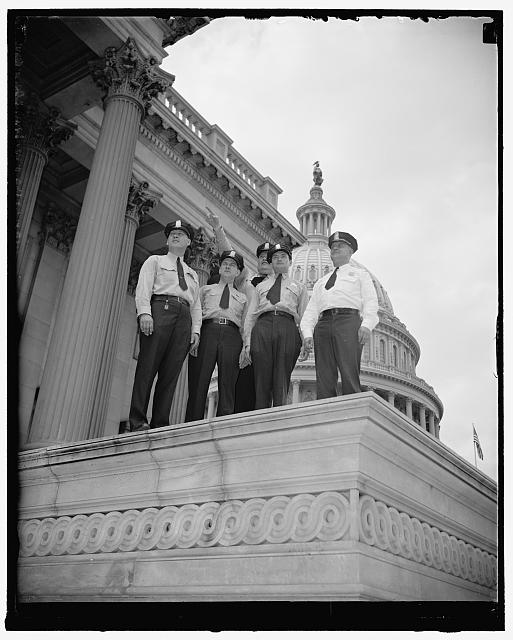 7/1/40: New Capitol Police go on duty. Washington, D.C.