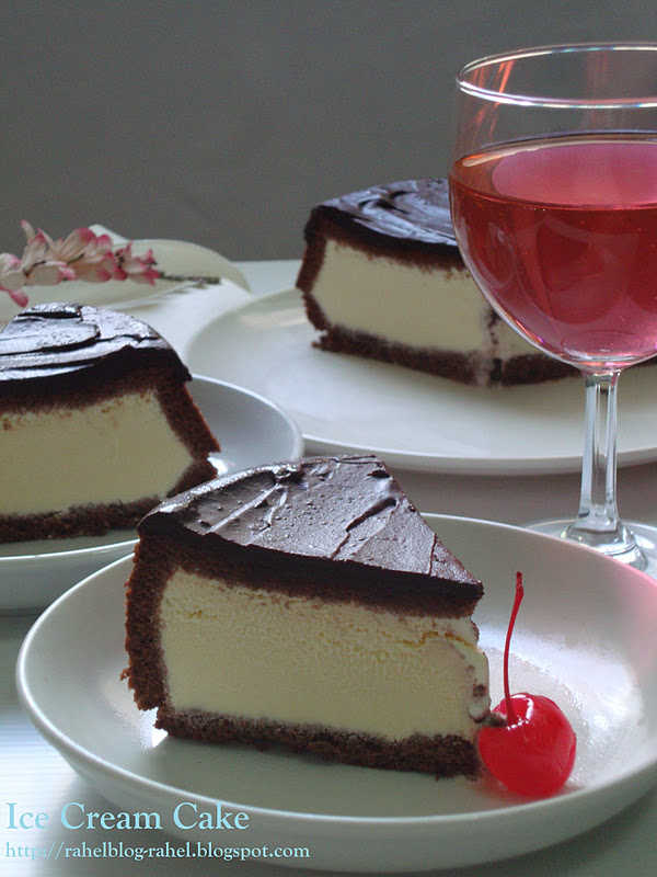 Rahel Blogspot Ice Cream Cake