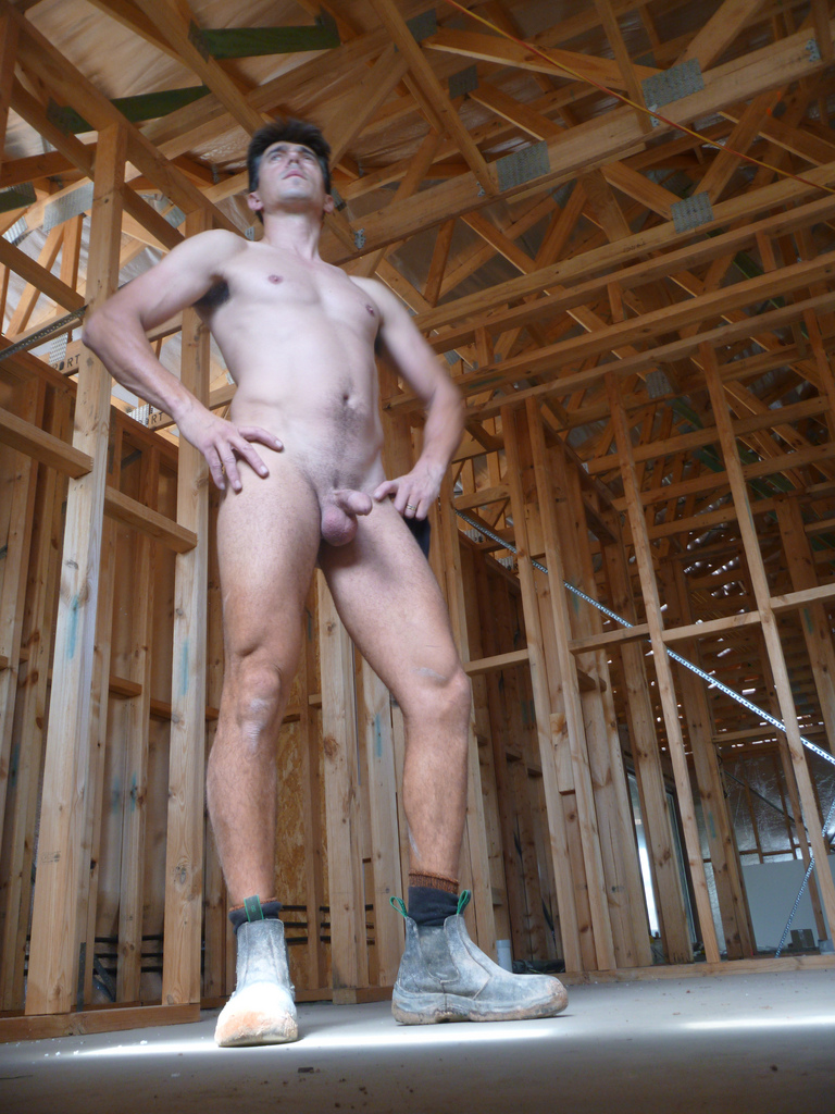 men at work nude