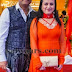 Orange Salwar Kameez at SIIMA 2013