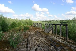 Остатки ещё одной баржи, река Шапкина