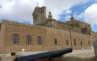 La Catedral de la Asunción, Victoria, isla de Gozo.