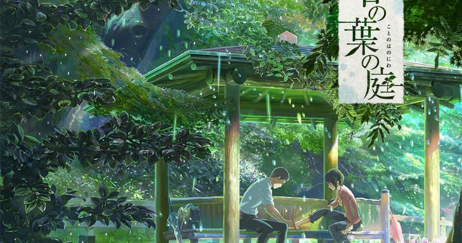 Recensione kotonoha no niwa il giardino delle parole for Soluzioni il giardino delle parole