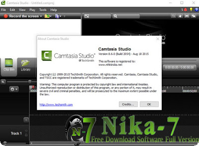 TechSmith Camtasia Studio v8.6.0 Final + Crack