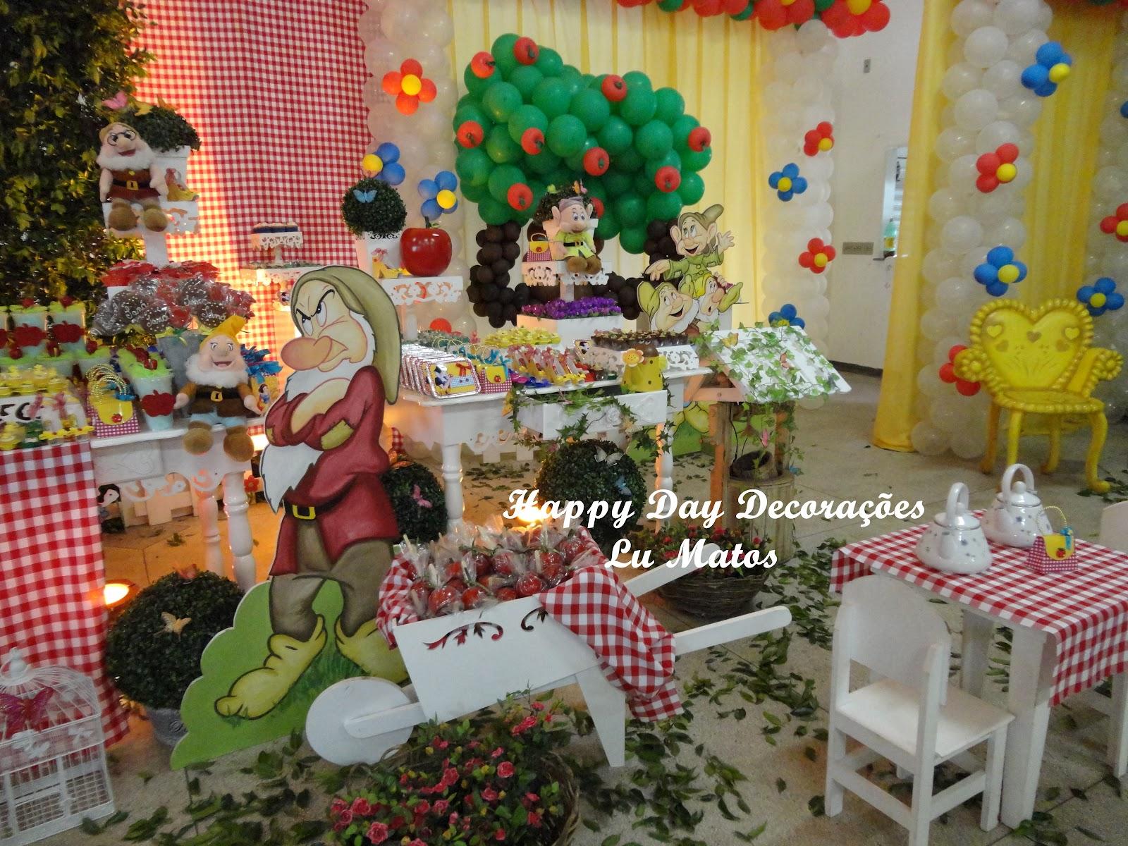 decoracao festa infantil branca de neve provencal : decoracao festa infantil branca de neve provencal:Luciana A. Matos: BRANCA DE NEVE – PROVENÇAL